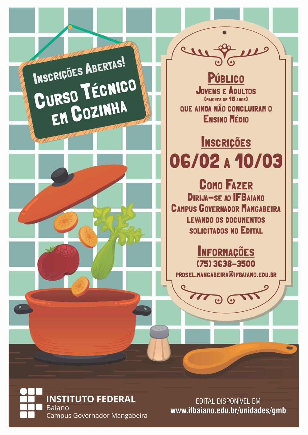 Cartaz Cozinha Web