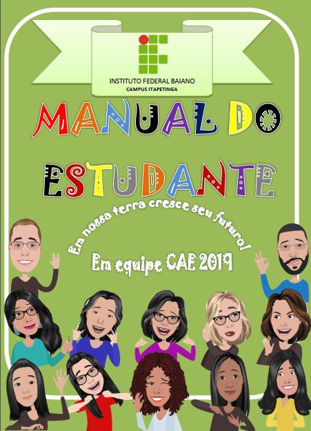 capa manual estudante CAE