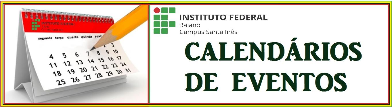 CALENDÁRIOS DE EVENTOS