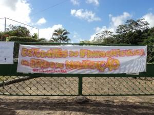 Ocupação por estudantes no IFBaiano campus Valença